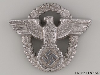 Police Officer's Cap Badge