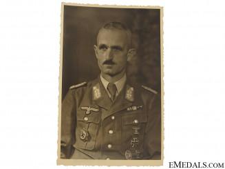 Portrait Photo of Afrika Korps General