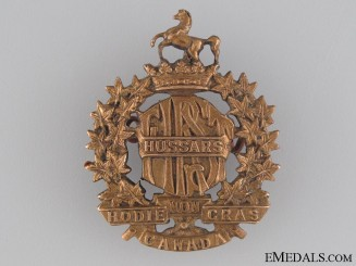 Pre-WWI First Hussars Cap Badge