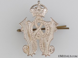 Pre-WWI Winnipeg Rifles MCap Badge