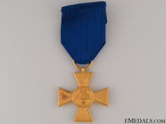Prussian Officers 25 Years Service Cross