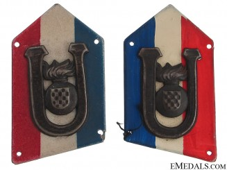 PTS (Pavelic's Body Guard) Collar Tabs