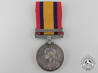A Queen's South Africa Medal to Stoker W.E. Gatehouse; H.M.S. Powerful