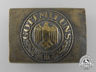 A Third Reich Kriegsmarine Enlisted Man's Belt Buckle