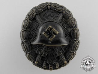 A Black Grade Condor Legion Badge; Screw Back Version