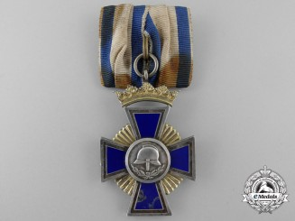 Germany, Bavaria. A Fireman's 50 Years Service Award, c.1930