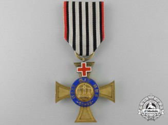 An 1872-74 Civil Division Prussian Order of the Crown; Fourth Class Cross