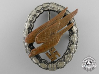 Germany, Luftwaffe. A Fallschirmjäger Badge, by Assmann