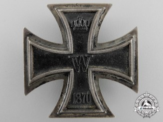 An Iron Cross First Class 1870 by Godet