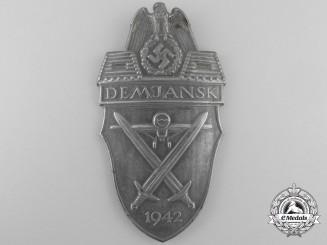 A Demjansk Campaign Shield