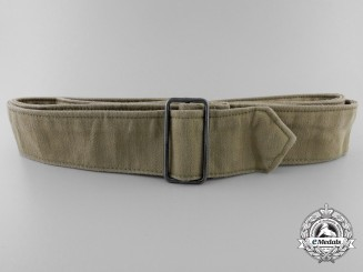 A Third Reich Khaki Belt with Buckle
