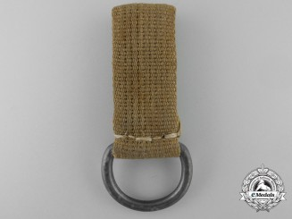 An Afrika Korps Shoulder Strap Belt Loop