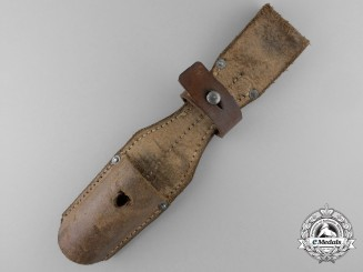 A German Leather Bayonet Frog