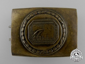 A Night Watchman's Belt Buckle by Christian Theodor Dicke; Published