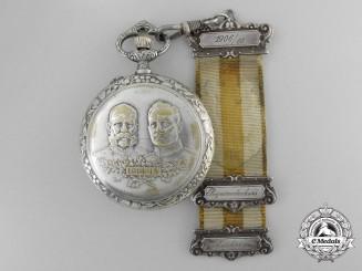 A German Imperial First War Railway Pocket Watch 1914-1915