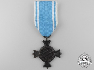 A Bavarian Military Long Service Decoration; 2nd Class