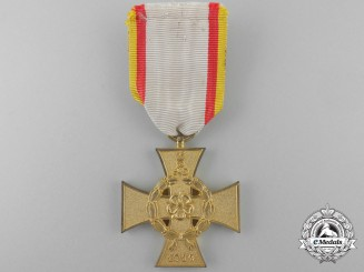 A 1914-1918 Lippe-Detmold War Merit Cross; Second Class