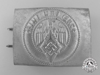 An Unusual HJ Belt Buckle by F.W. Assmann & Söhne
