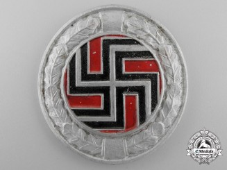 A Second War Badge of the German Regiment (Croatian Army)
