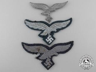 Three Luftwaffe Insignia