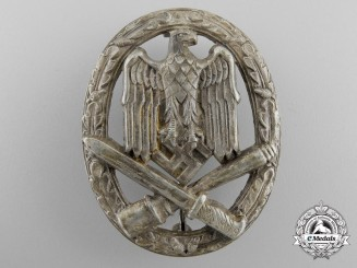 An Early General Assault Badge in Tombac
