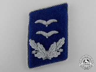 A Luftwaffe Medical Corps Oberleutnant Collar Tab