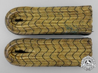 Germany, Third Reich. A Pair of Forestry Shoulder Boards