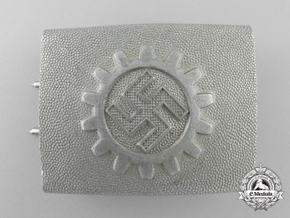 A German Labour Front Stosstrupp of the Werkschar Enlisted Man's Belt Buckle