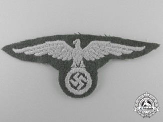 A Railway Security (Bahnschutz) EM/NCO's Sleeve Eagle