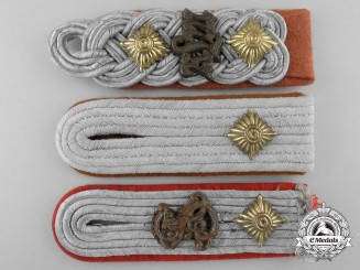 Three Luftwaffe Officer's Shoulder Boards