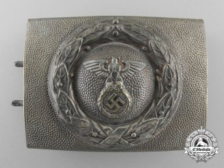 A German Air Sport Association Fliegerschaft NCO's Belt Buckle