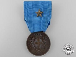 A First War Italian Al Valore Militare Medal 1916