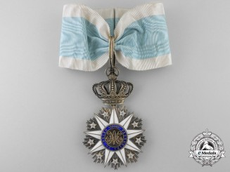 A French Made Portuguese Order of Villa Vicosa; Commander's Cross