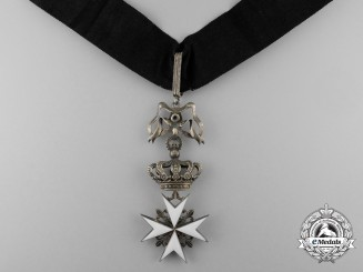 France. An Order of St.John, Commander's Cross, c.1960