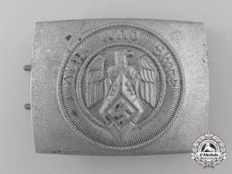 An HJ Belt Buckle by Josef Felix Söhne; Published Example