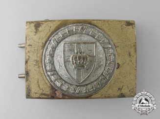 A Veteran's Scharnhorst League (Scharnhorstbund) Belt Buckle