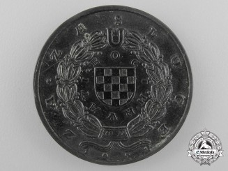 A Croatian King Zvonimir Medal Prototype