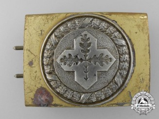 A German Physical Education Association; Evangelistical Belt Buckle