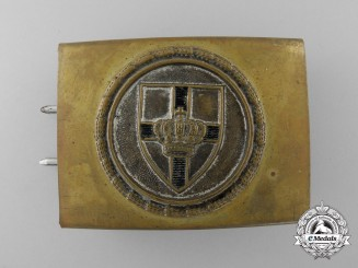 A German Veteran's Scharnhorst League (Scharnhorstbund) Belt Buckle