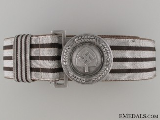 RAD Officer's Brocade Belt & Buckle by Assmann