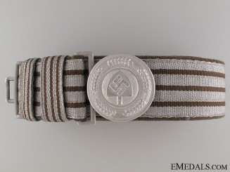 RAD Officer's Brocade Belt and Buckle