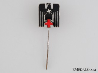 Red Cross (DRK) Stickpin Type IV