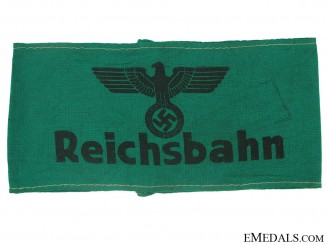 Reichsbahn Service armband