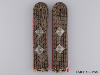 Reichsbahn Shoulder Board (Epaulette) Pair; Pay Group 6Consign #11