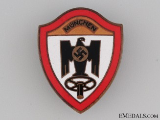 """Reichsverband des Kraftfahrgewerbes München"""" Badge"""