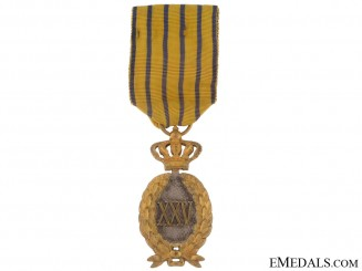 Badge of Honour for 25 Years Military Service