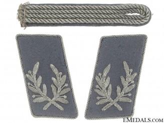 RLB Luftschutz Führer's Strap & Tabs