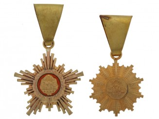 Very Rare Diplomatic Sash Badges