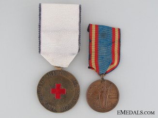 Romanian Medal Pair
