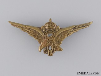 Royal Bulgarian Pilot's Badge